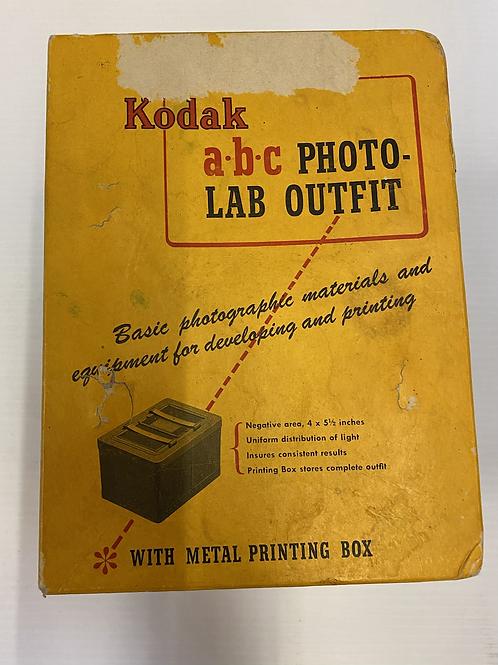 Kodak ABC Photo Lab Outfit