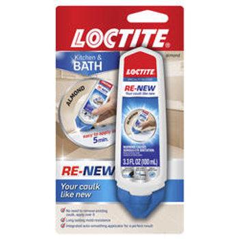 Loctite® RE-NEW™ Almond Specialty Kitchen & Bath Silicone Sealant - 3.3 oz.