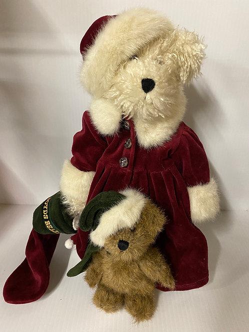 Boyds Bear - Tasha B. Frostbeary and Stephen w/Tweek F. Wuzzy 1999