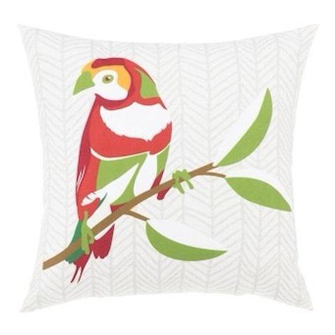 Outdoor Throw Pillow - Finch Cream