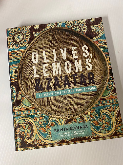 Olives, Lemons & Za'atar - Hardcover Book
