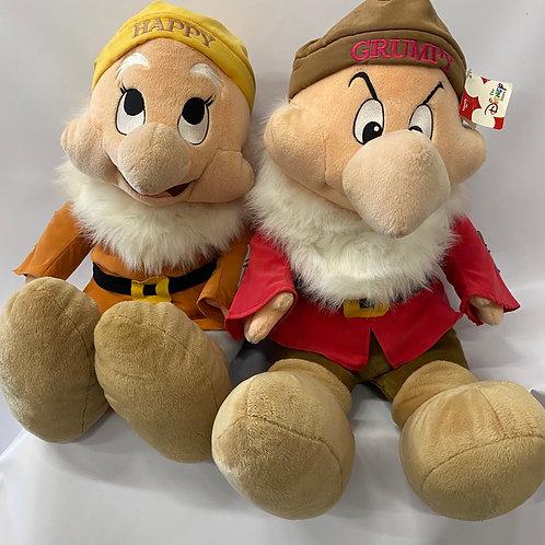 Happy & Grumpy Plush Toys - Set of 2