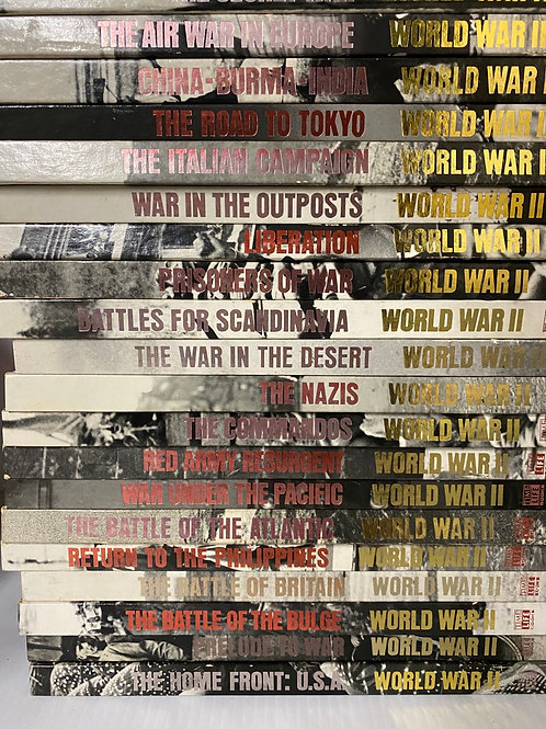 Time-Life WWII Series of Hardcover Books