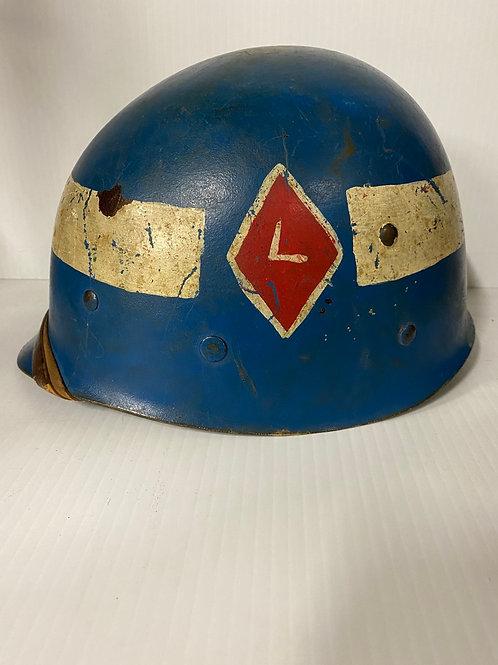 WWII Helmet Liner Firestone - painted