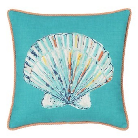 Outdoor Throw Pillow - Clamshell