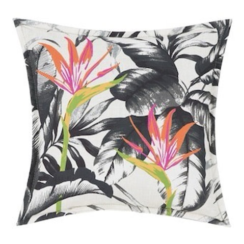 Outdoor Throw Pillow - Aquarius Tropical