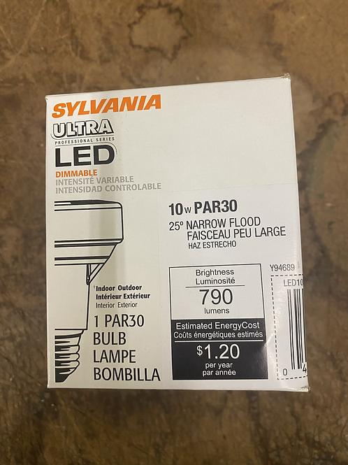 Sylvania 10w PAR30 LED Bulb Dimmable