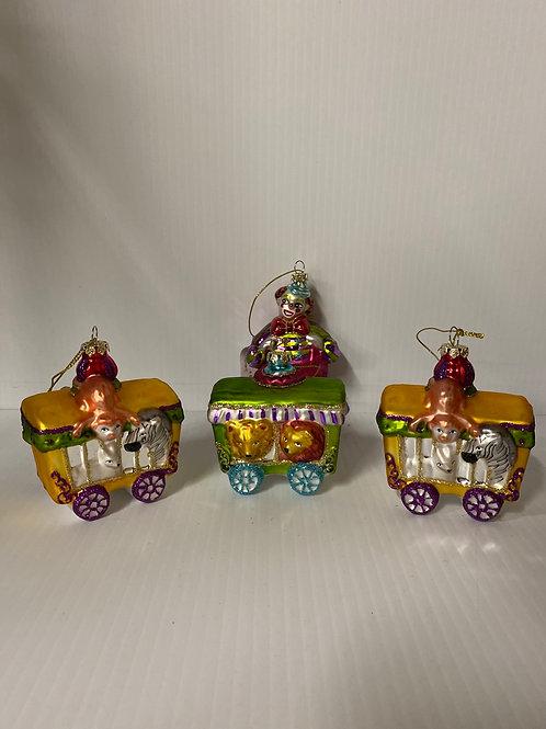 Circus Ornament - Set of 4