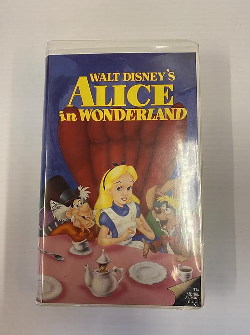 Alice in Wonderland VHS Tape