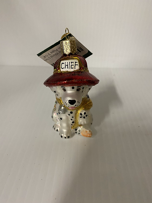 Chief Dog Ornament