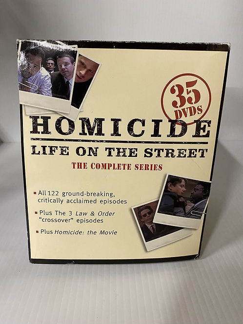 Homicide Life on the Street - DVD Complete Series