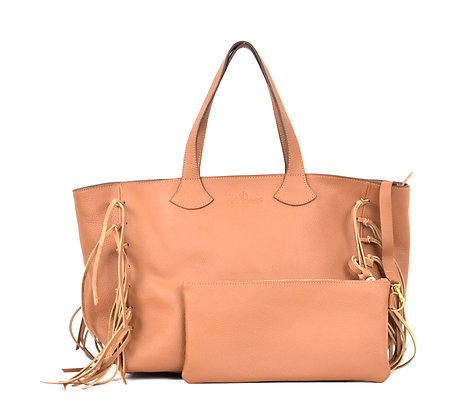 Val Shopper - leather