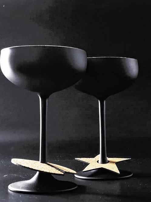 GATSBY Champagner Martini Schale 2 Stück