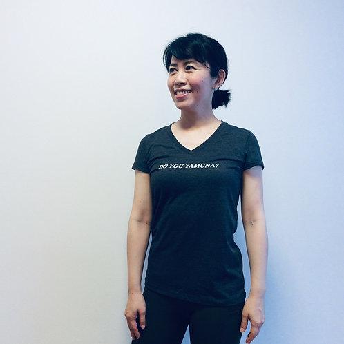 Jersey Short-Sleeve V-Neck Tシャツ