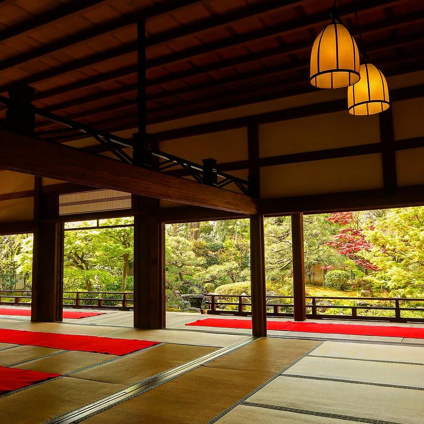 10/17【ライブ配信・見逃し配信あり】<京都開催>YAMUNA meets ZAZEN Special Workshop in KYOTO ~YBRと座禅のコラボワークショップ~
