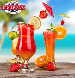 Fresh juices & Iced teas