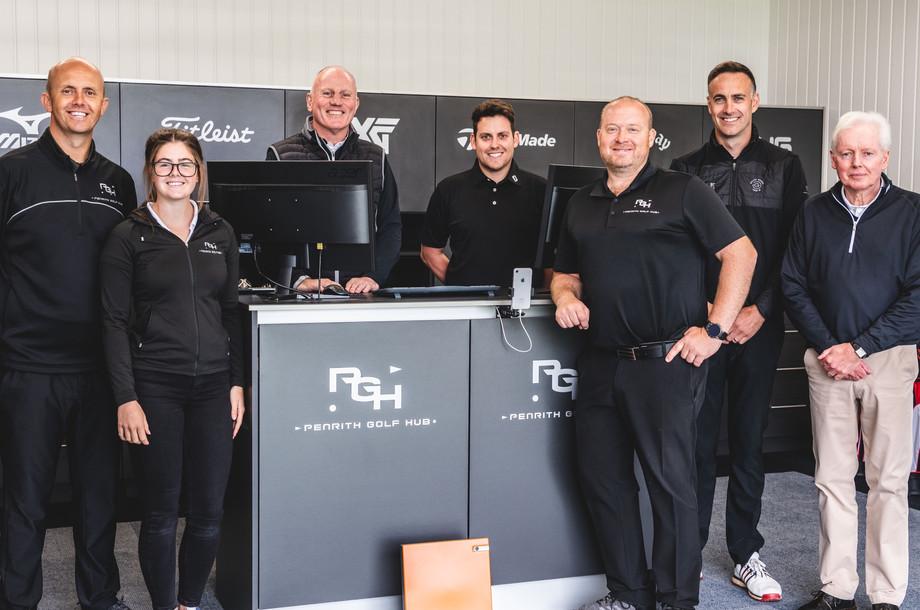 The Penrith Golf Hub team