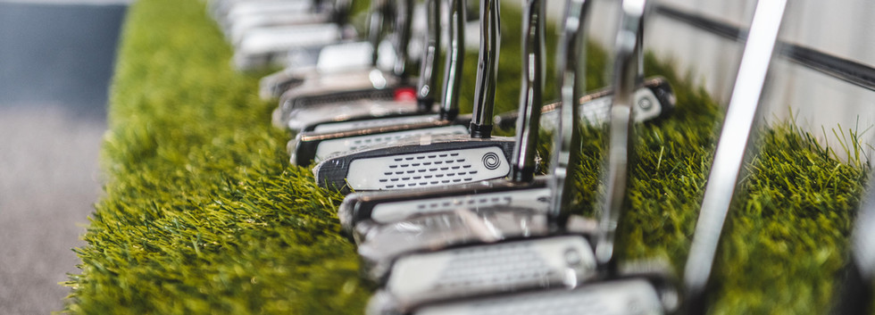 Selection of putters we offer