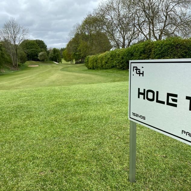 Hole 1 at PGH