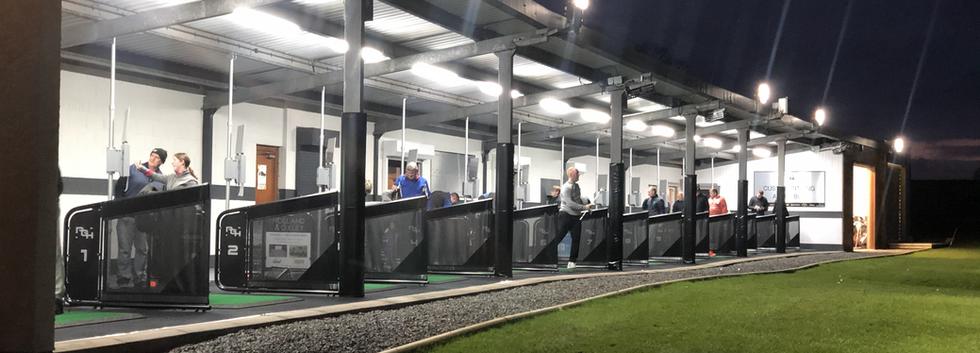 Penrith Golf Hub at night