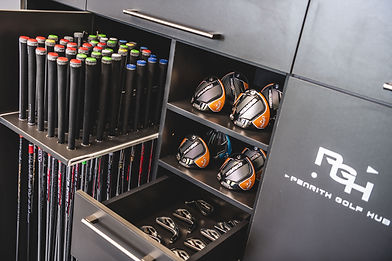 Custom golf club fitting at Penrith Golf Hub in Penrith, Cumbria