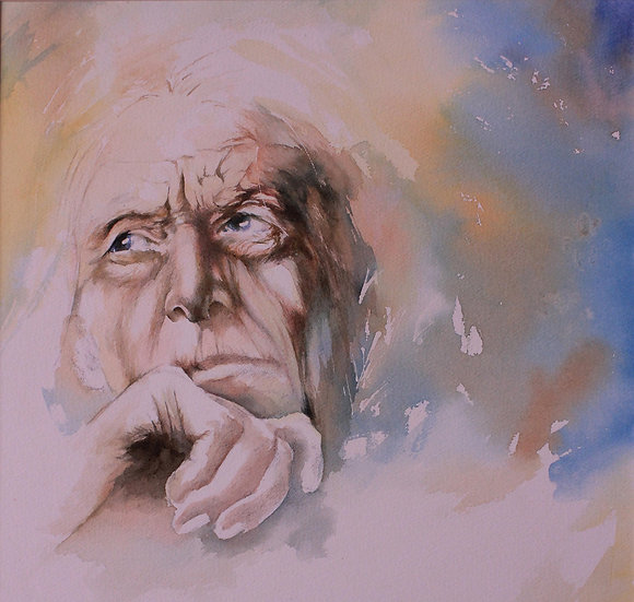 Watercolour Portraits with Hettie Rowley Sat 27 & Sun 28 March 2021