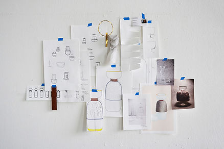 Collage of concept and development - Simon Ballen