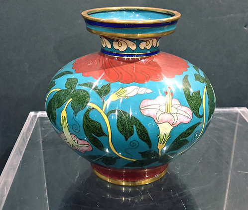 20TH CENTURY CHINESE CLOISONNE VASE