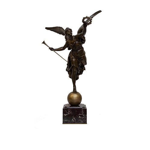 Louis-Ernest Barrias, French Bronze