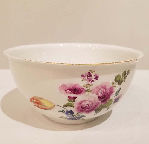 Meissen Porcelain Waist Bowl 18C.