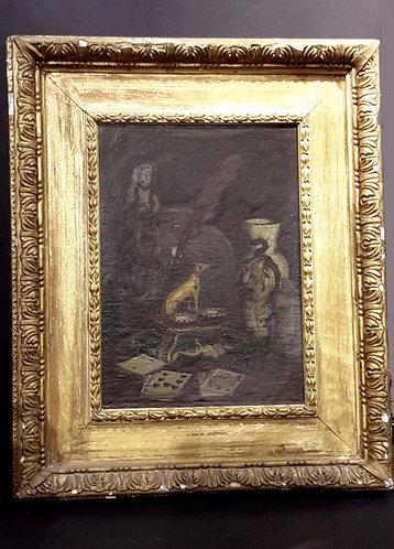 Still life Oil on Canvas signed