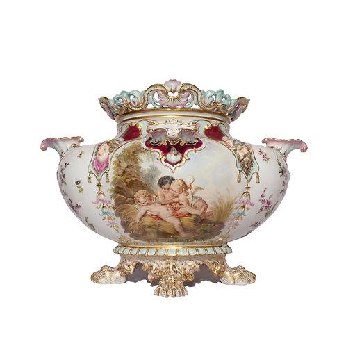 Rare Berlin K.P.M. Porcelain Vase