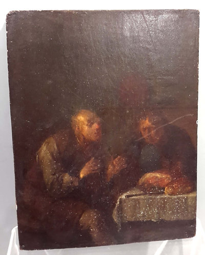 Old Master Painting , Signed Van Ostade