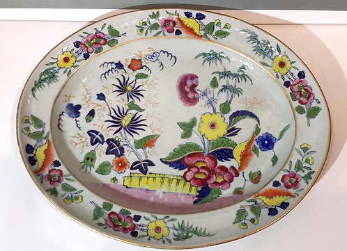 Early 19C. Chinese Export Porcelain Platter