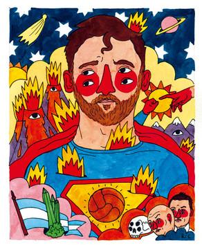 Messi + Superman