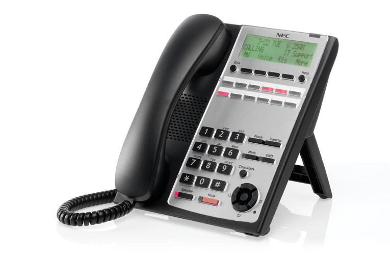 טלפון מנהלים חכם 12 לחצנים שחור