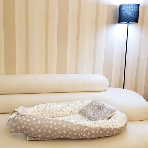 BabyNest Bebek Uyku Yatağı Ve Yastığı