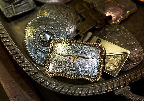 Gant et ceinture pour equitation western, cowboy