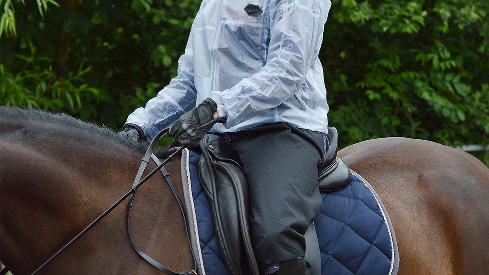 Protection imperméable pour les jambes à cheval