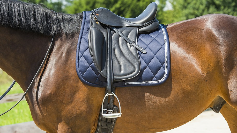 "Tapis de selle cheval EQUITHÈME ""Diamond"""