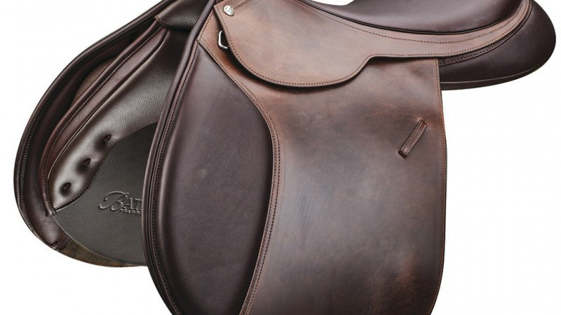 "Selle BATES ""Caprilli"" CAIR® Close Contact équitation"