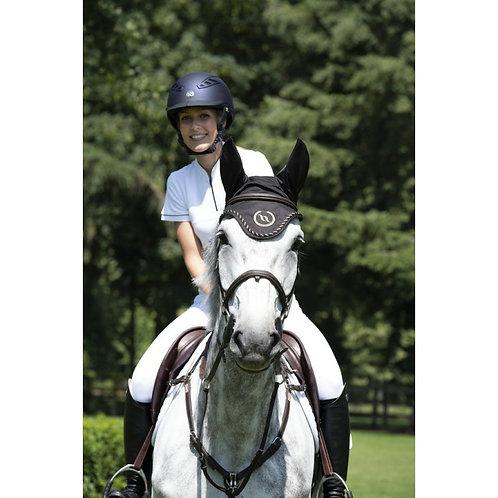 Bonnet chasse-mouches cheval BACK ON TRACK® à oreilles