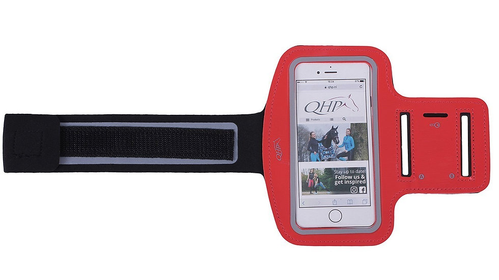 Brassard smartphone équitation