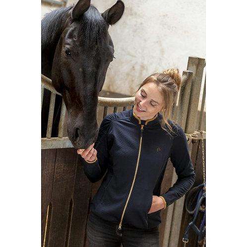 """Sweat équitation zippé EQUITHÈME """"Tess"""" - Femmes"""