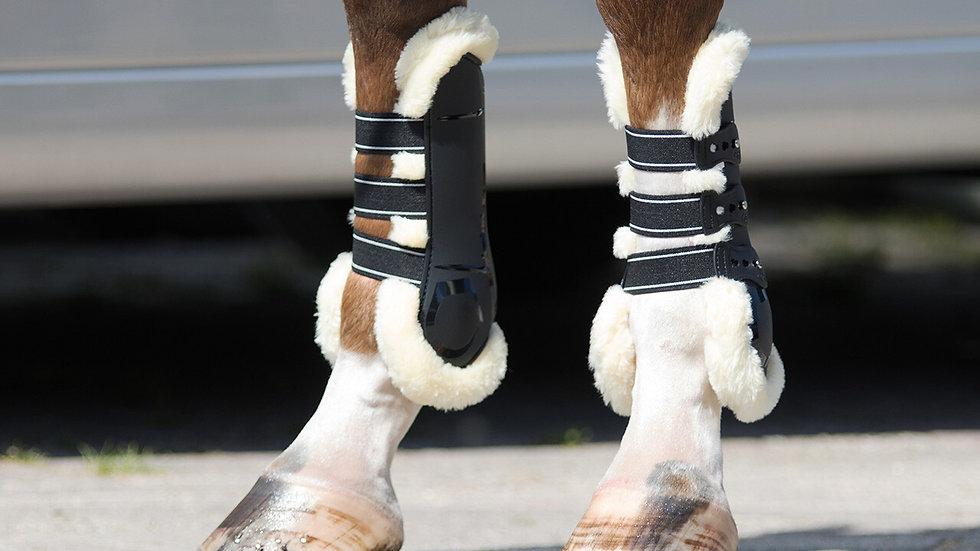 Guêtres équitation ouvertes Ontario