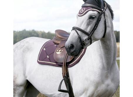 Choisir son tapis de selle d'équitation