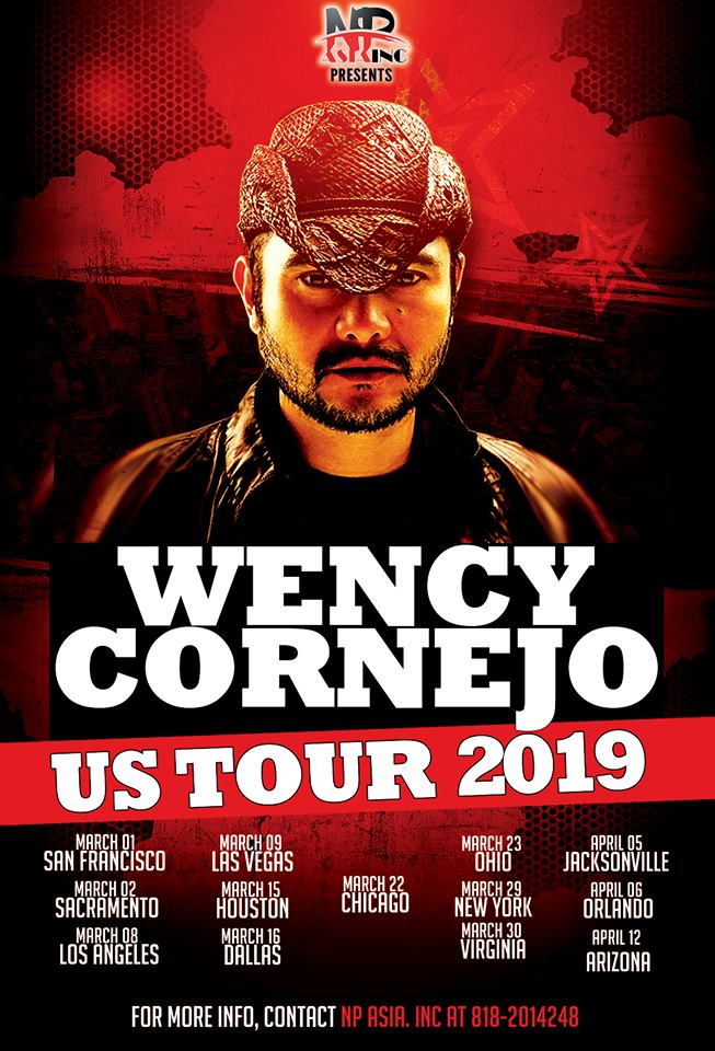 Wency Cornejo US tour