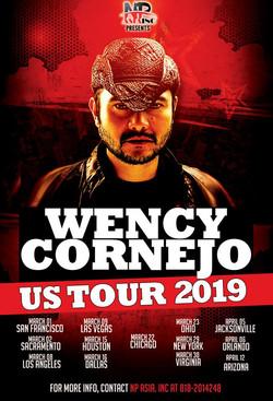 Wency Cornejo US tour