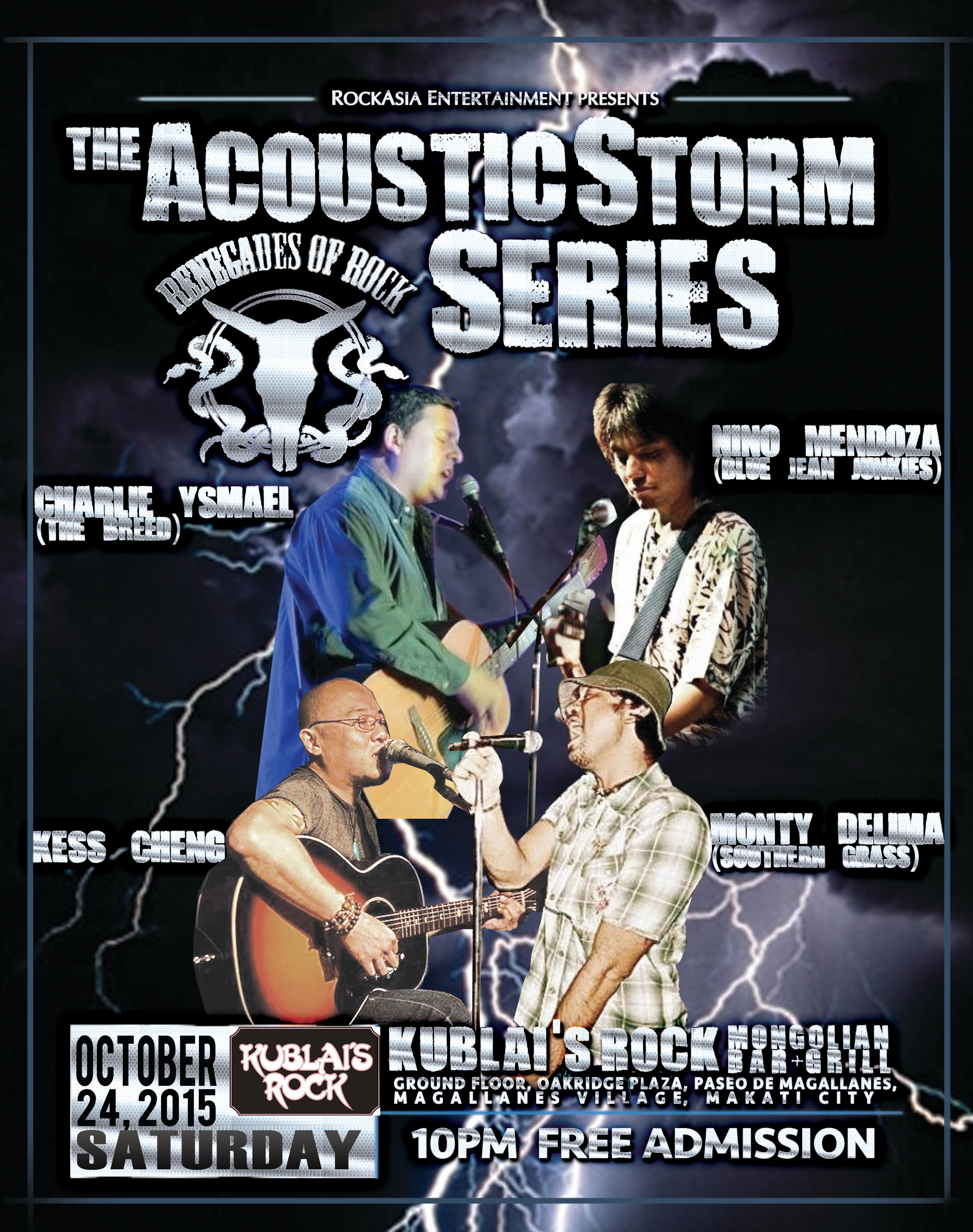 Acoustic Storm Series