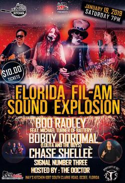 Florida Filam Sound Explosion